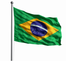 Cheveux brésiliens pour mèches de tissage