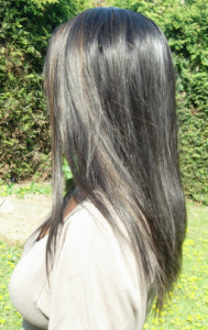 Le lace frontal de dos